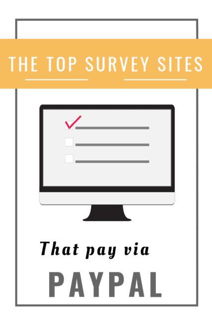 The Top Legit Surveys That Pay Through PayPal [2019