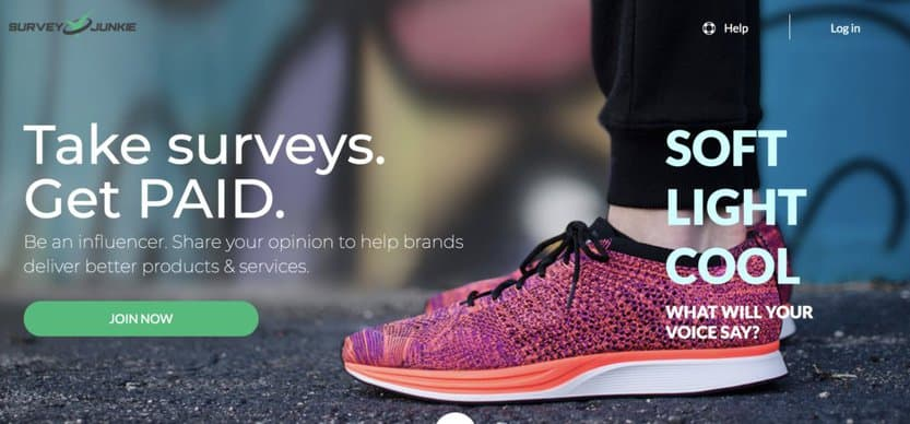 Another of the make money apps PayPal offers is Survey Junkie.